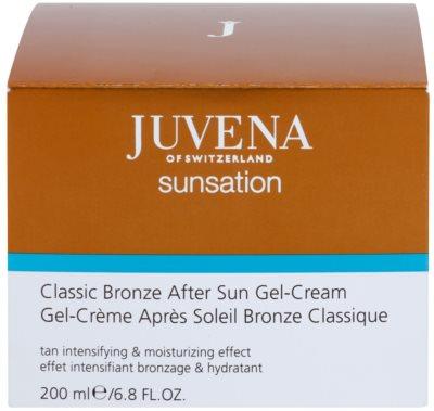 Juvena Sunsation creme bronzeadorq em gel pós-solar 2