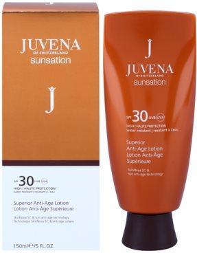 Juvena Sunsation захисне молочко проти старіння шкіри SPF 30 1