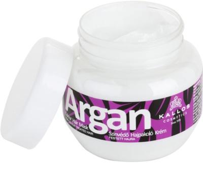 Kallos Argan maska pro barvené vlasy 1