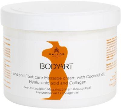 Kallos BodyArt Massagecreme Für Hände und Füße