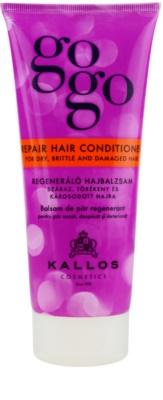Kallos Gogo regeneráló kondicionáló száraz és sérült hajra