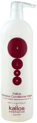 Kallos KJMN condicionador intensivo para cabelo pintado