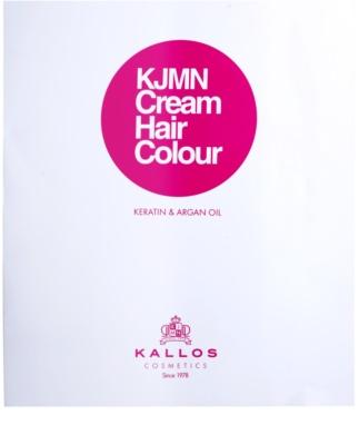 Kallos KJMN Haarfarbe mit Keratin und Arganöl 3