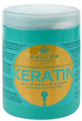 Kallos KJMN mascarilla con keratina