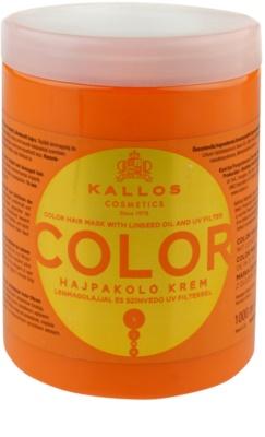 Kallos KJMN máscara para cabelo pintado