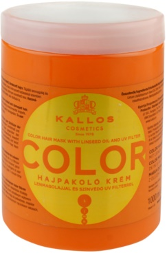 Kallos KJMN маска  за боядисана коса
