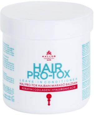Kallos KJMN máscara hidratante e nutritiva para cabelo seco a danificado