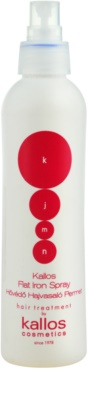 Kallos KJMN spray ochronny do ochrony włosów przed wysoką temperaturą