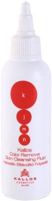 Kallos KJMN Farbentferner aus Haut