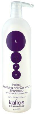 Kallos KJMN posilující šampon proti lupům