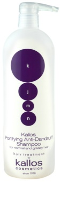 Kallos KJMN šampon za okrepitev las proti prhljaju