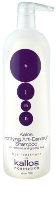 Kallos KJMN szampon wzmacniający przeciw łupieżowi