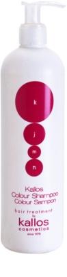 Kallos KJMN Shampoo für gefärbtes Haar