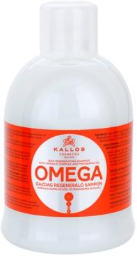 Kallos KJMN відновлюючий шампунь з олією макадамії та комплексом омега-6