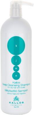 Kallos KJMN globinsko čistilni šampon za mastne lase in lasišče