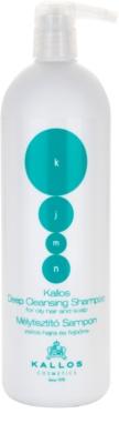 Kallos KJMN hloubkově čisticí šampon pro mastné vlasy a vlasovou pokožku