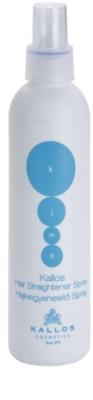 Kallos KJMN spray  a hajformázáshoz, melyhez magas hőfokot használunk