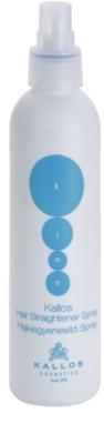 Kallos KJMN spray  a hajformázáshoz, melyhez magas hőfokot használunk 1