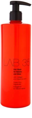 Kallos LAB 35 mascarilla capilar para dar volumen y brillo