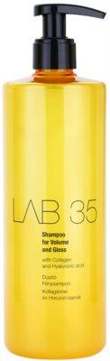 Kallos LAB 35 sampon pentru volum si stralucire