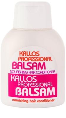 Kallos Nourishing condicionador para cabelo seco a danificado