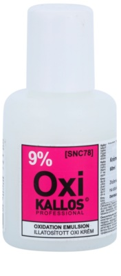 Kallos Oxi creme de peróxido 9%