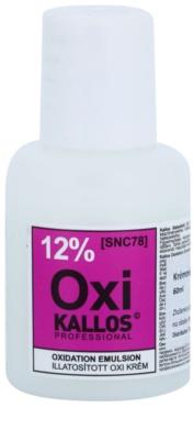 Kallos Oxi emulsión oxidante cremosa 12%