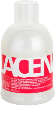 Kallos Placenta šampon pro suché a poškozené vlasy