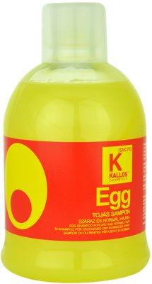 Kallos Hair Care sampon hranitor pentru par uscat si normal.