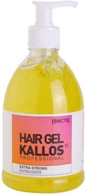 Kallos Hair Care Haargel extra starke Fixierung