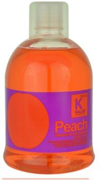 Kallos Hair Care Shampoo mit ernährender Wirkung für trockenes und zerbrechliches Haar