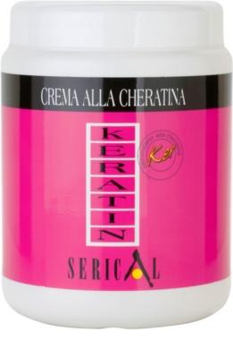Kallos Serical restrukturierende Haar-Creme mit Keratin