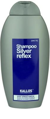 Kallos Silver champú para cabello con canas