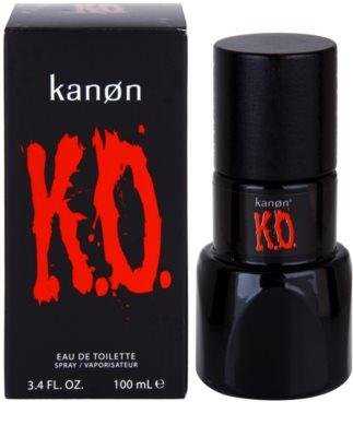 Kanon K.O. Eau de Toilette para homens