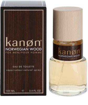 Kanon Norwegian Wood eau de toilette férfiaknak