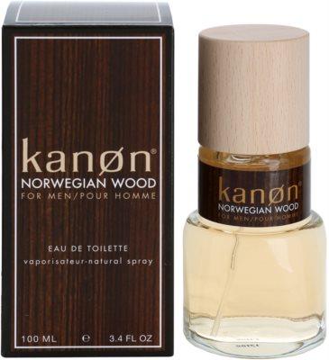Kanon Norwegian Wood Eau de Toilette für Herren