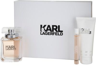 Karl Lagerfeld Karl Lagerfeld for Her coffrets presente