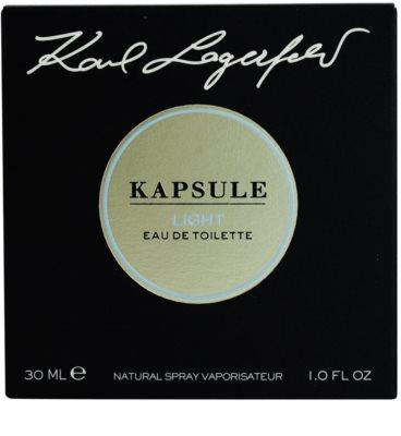 Karl Lagerfeld Kapsule Light toaletní voda unisex 4
