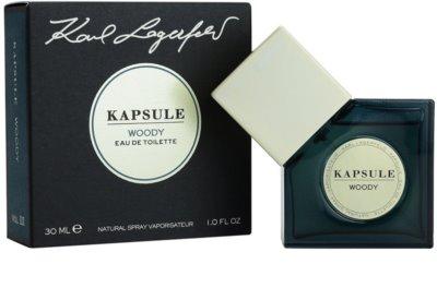 Karl Lagerfeld Kapsule Woody eau de toilette unisex 1