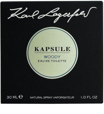 Karl Lagerfeld Kapsule Woody eau de toilette unisex 4