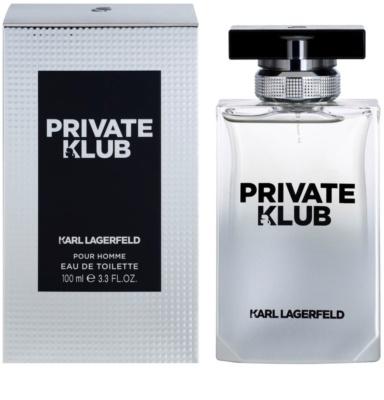 Karl Lagerfeld Private Klub Eau de Toilette pentru barbati