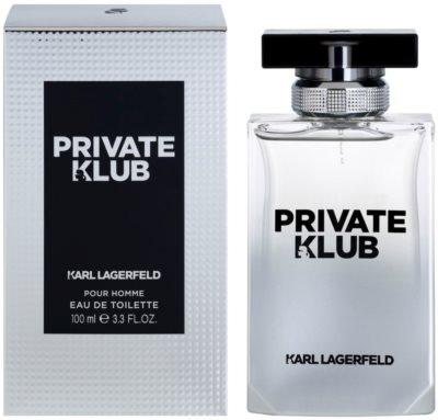 Karl Lagerfeld Private Klub toaletná voda pre mužov