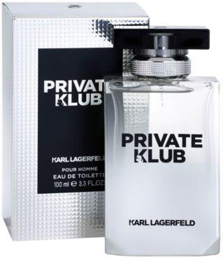 Karl Lagerfeld Private Klub toaletná voda pre mužov 1