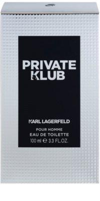 Karl Lagerfeld Private Klub Eau de Toilette pentru barbati 4