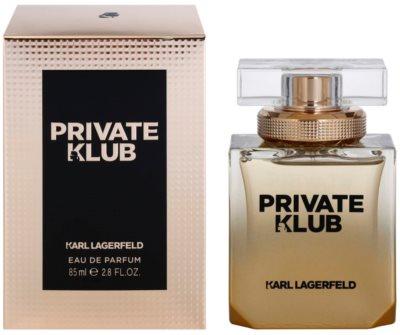 Karl Lagerfeld Private Klub Eau de Parfum para mulheres