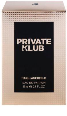 Karl Lagerfeld Private Klub Eau de Parfum für Damen 4