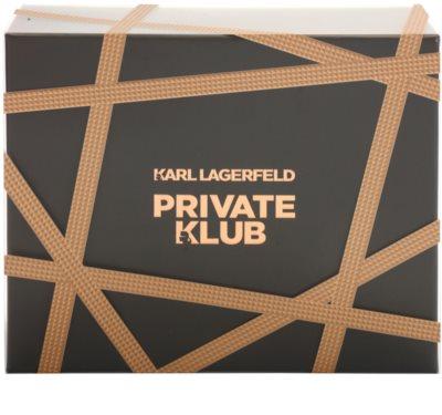 Karl Lagerfeld Private Klub coffret presente 2