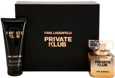 Karl Lagerfeld Private Klub coffret presente