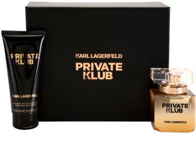 Karl Lagerfeld Private Klub set cadou