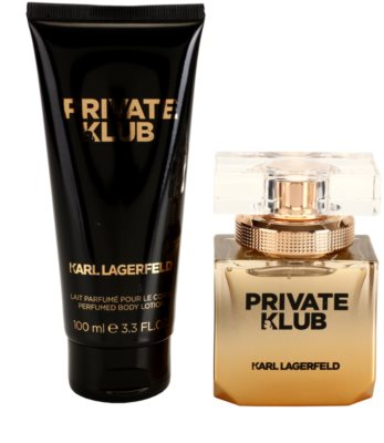 Karl Lagerfeld Private Klub coffret presente 1